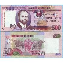 Мозамбик 500 метикал 2011 год.