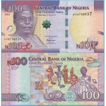 Нигерия 100 найра 2014 год. Юбилейная
