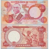 Нигерия 10 найра 2003 год.