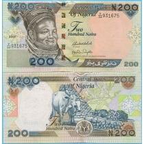 Нигерия 200 найра 2007 год.