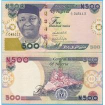 Нигерия 500 найра 2007 г.