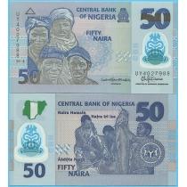 Нигерия 50 найра 2018 год.