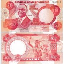 Нигерия 10 найра 2001 г.