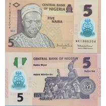 Нигерия 5 найра 2013 г.