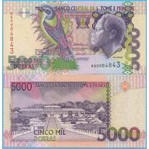 Сан Томе и Принсипи 5000 добра 1996 год.