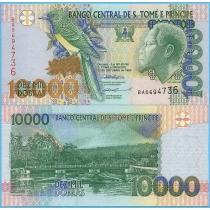 Сан Томе и Принсипи 10000 добра 1996 год.