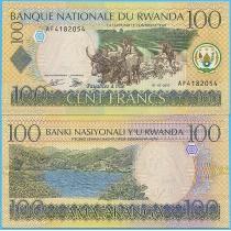 Руанда 100 франков 2003 год. Пик 29a.