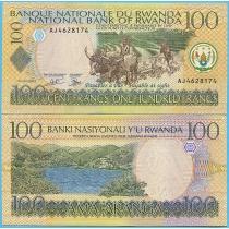Руанда 100 франков 2003 год. Пик 29b.