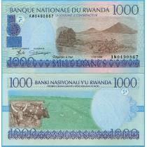Руанда 1000 франков 1998 г.