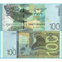 Сан Томе и Принсипи 100 добра 2016 год.