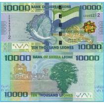 Сьерра-Леоне 10000 леоне 2013 год.