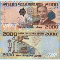 Сьерра-Леоне 2000 леоне 2010 год.