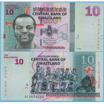 "Свазиленд 10 эмалангени 2015 год.  ""Vision 2022"""
