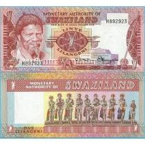 Свазиленд 1 лилангени 1974 год.