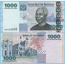 Танзания 1000 шиллингов 2006 год.