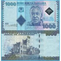 Танзания 1000 шиллингов 2019 год.