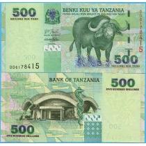 Танзания 500 шиллингов 2003 год.