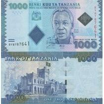 Танзания 1000 шиллингов 2010 год.