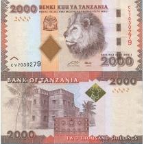 Танзания 2000 шиллингов 2010 г.