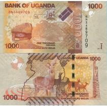 Уганда 1000 шиллингов 2013 г.