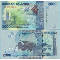 Уганда 2000 шиллингов 2010 г.