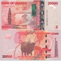 Уганда 20000 шиллингов 2010 г.