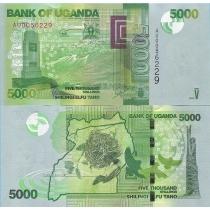 Уганда 5000 шиллингов 2013 г.
