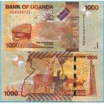 Уганда 1000 шиллингов 2017 год.