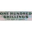 Банкнота Уганды 100 шиллингов 1966 год.