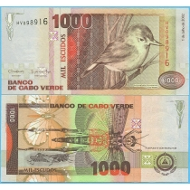 Кабо Верде 1000 эскудо 2002 год.