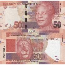 Южная Африка 50 рандов 2012 г.