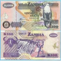 Замбия 100 квача 2006 год.