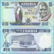 Замбия 10 квача 1986-1988 год.