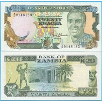 Замбия 20 квача 1991 год.