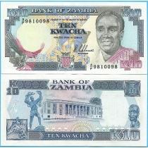 Замбия 10 квача 1989 год.