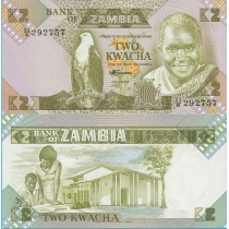 Замбия 2 квача 1980-1988 год.