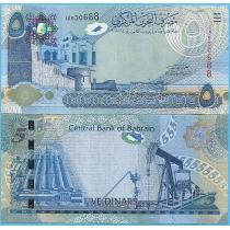 Бахрейн 5 динар 2008 год.