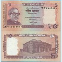 Бангладеш 5 так 2011 год.