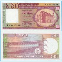 Бангладеш 10 так 1982 год. 2-й тип подписи
