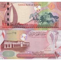 Бахрейн 1 динар 2006 г.