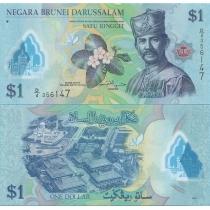 Бруней 1 ринггит 2011 год.