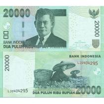 Индонезия 20.000 рупий 2015 год.