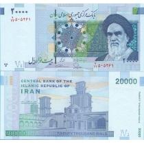 Иран 20000 реалов 2014 г.