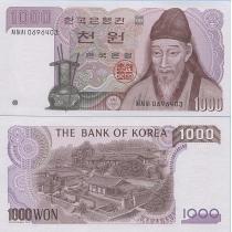 Южная Корея 1000 вон 1983 год.