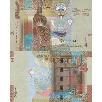 Кувейт 1/4 динара 2014 г.
