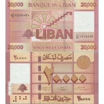 Ливан 20000 ливров 2012 г.