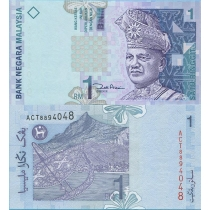 Малайзия 1 ринггит 2001 г.
