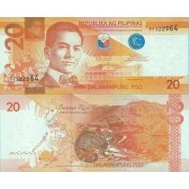 Филиппины 20 песо 2014 г.