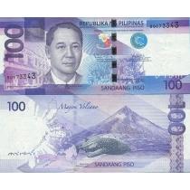 Филиппины 100 песо 2015 год.