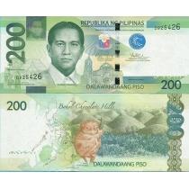 Филиппины 200 песо 2010 год.